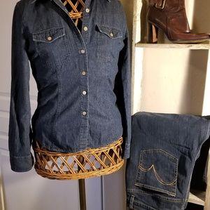 Jean Shirt by Talbots